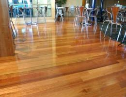 Australian Chestnut Solid Timber Overlay